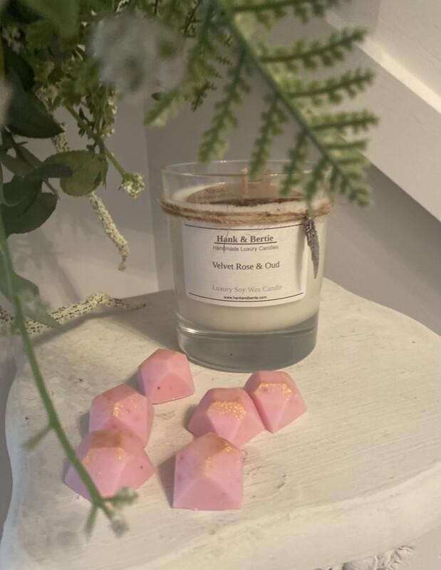 Velvet Rose & Oud 20cl Candle