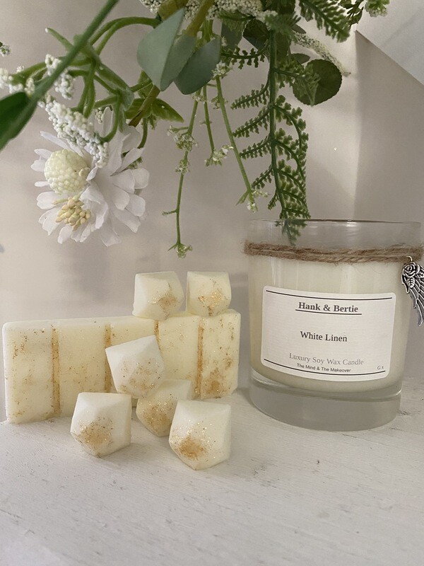 White Linen 30cl Candle