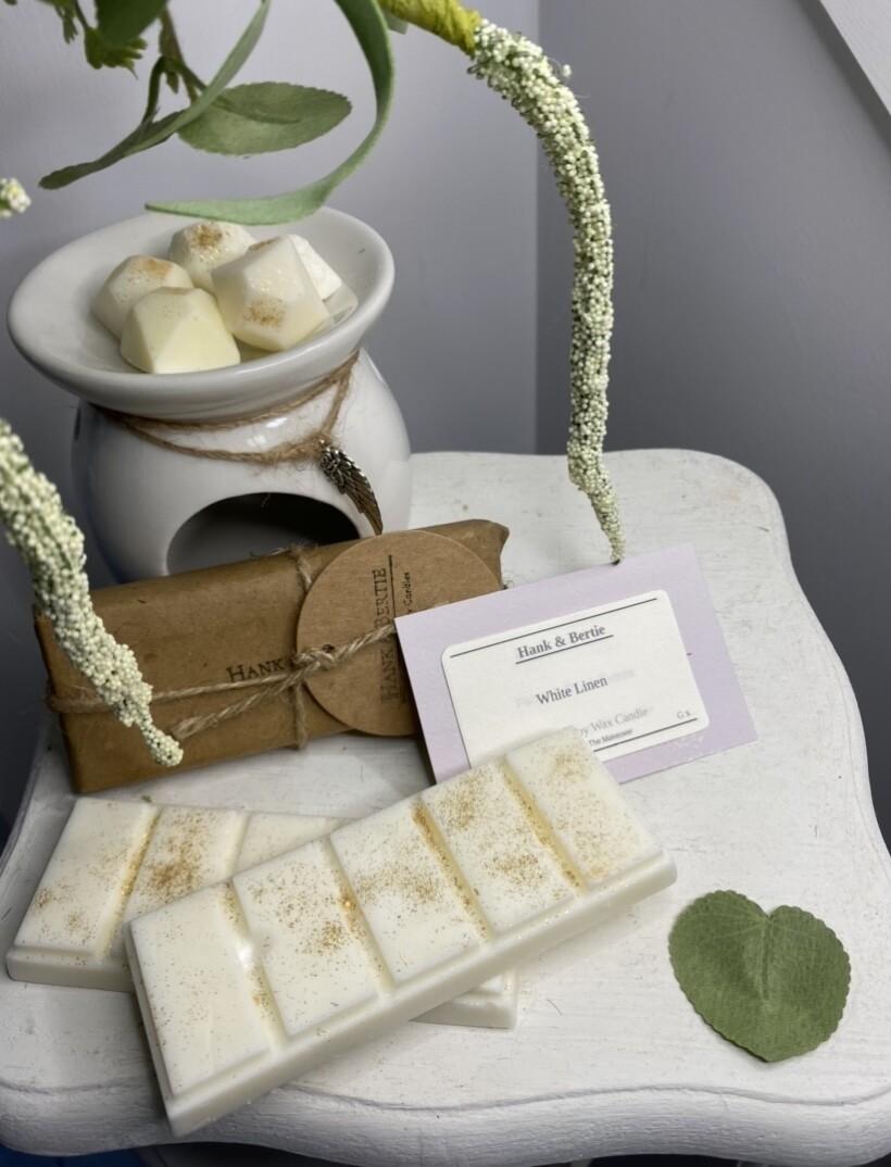 White Linen Soy Wax Melts (6pcs)