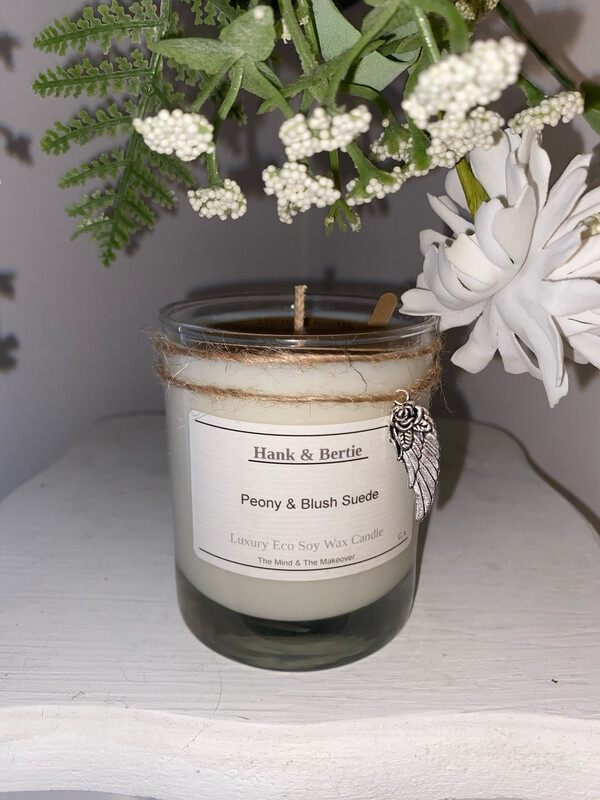 Peony & Blush Suede 20cl Candle