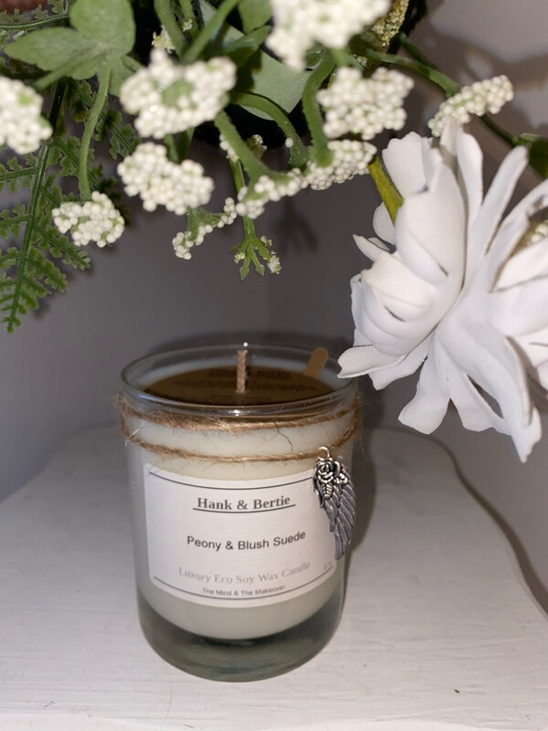 Peony & Blush Suede 30cl Candle