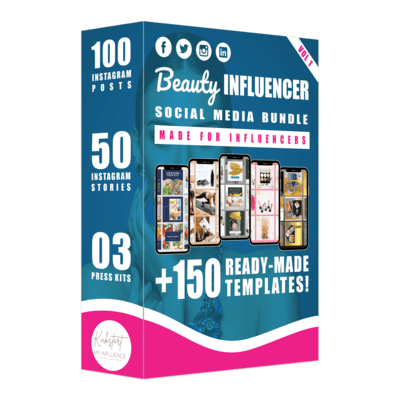 Beauty Influencer Social Media Bundle