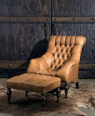 Custom Made Rosella Chair + Ottoman