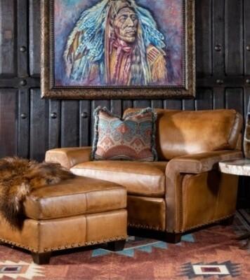 Custom Made Virmac Sofa + Ottoman