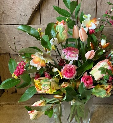 Mother's Day Vase Arrangement, delivered