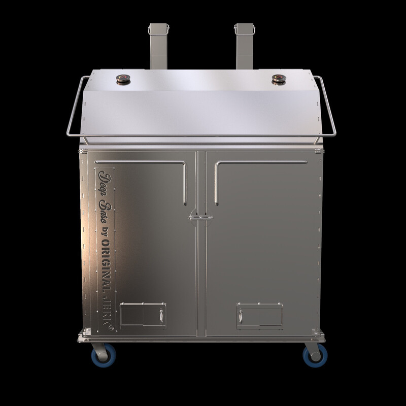 STAINLESS STEEL PRO HEAVY SMOKER
