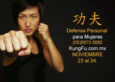 Curso Defensa Personal para Mujeres 21 y 22 de Noviembre