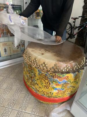 Tambor para Danza de Leones Chinos 26-30 Pulgadas XL