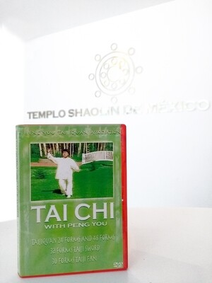DVD de Tai Chi con GM.  Peng You