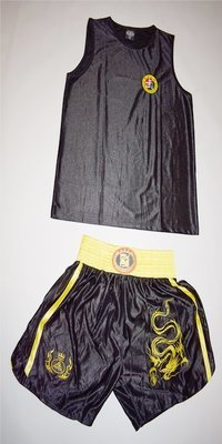 Uniforme Oficial de SanDa Negro