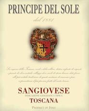 Principe Del Sole Sangiovese Toscana