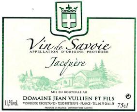 Jean Vullien & Fils L'Alpine Jacquere