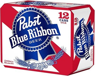 Pabst 12pk 12oz Cans