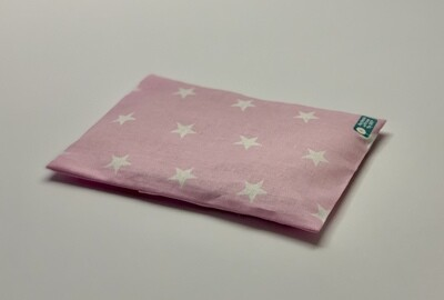 Kissen - Rosa, weiße Sterne