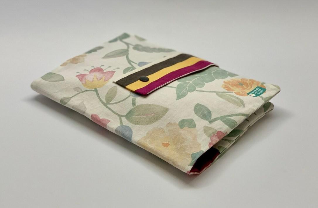 Tasche für Kissen - Blumen Lila