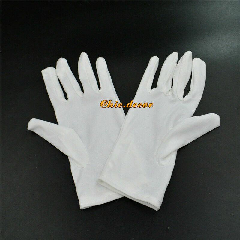 Formal White Banquet Gloves