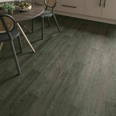 Black Elm ClicLux LVT Flooring 121.9 x 17.7 cm