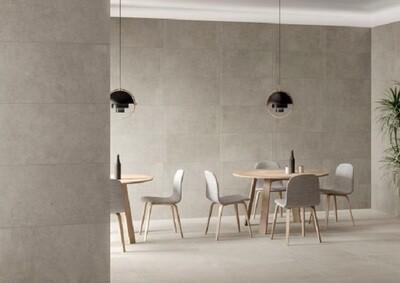 Stone Grey Matt Porcelain Tiles 60 x 30 cm