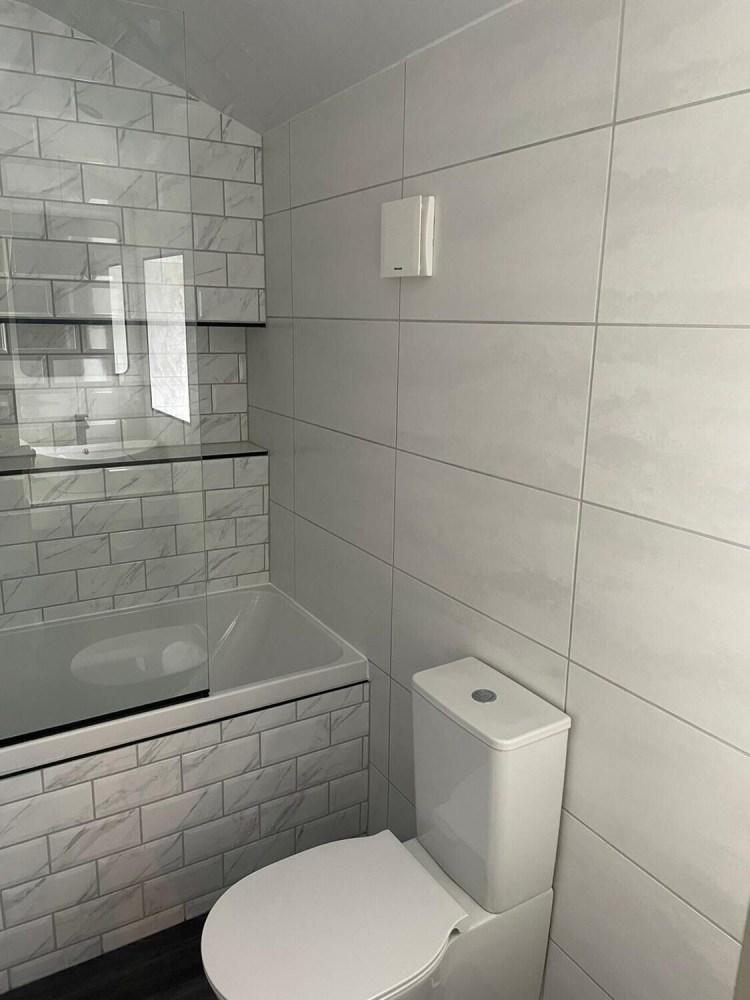 White Satin Ceramic Wall Tiles 60 x 30 cm
