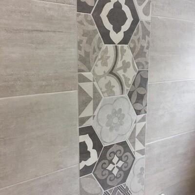 Silver Birch Porcelain Tiles 60 x 30 cm