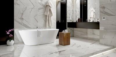 Grey Marble Gloss Tiles 90 x 45 cm cm