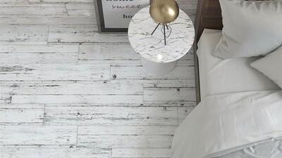 Woodwash Grey Porcelain Tiles 120 x 20 cm