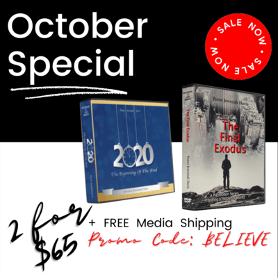 October Special | 2 For $65