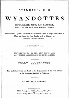 Wyandottes   Reliable Poultry Journal