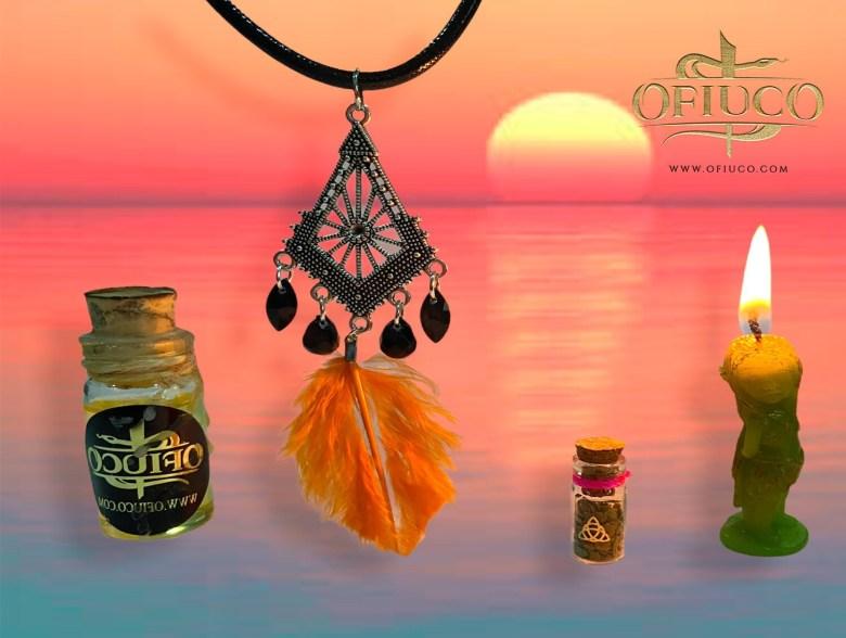 Amuleto Bruja Encantada