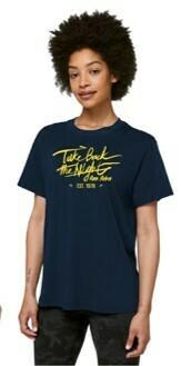 TBTN Ann Arbor T-Shirt Navy with Maize