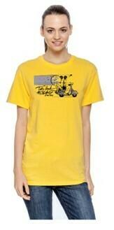 TBTN Ann Arbor T-Shirt Daisy Yellow with Full Logo