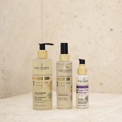 3 Steps Skincare met Vitamine Booster Mist