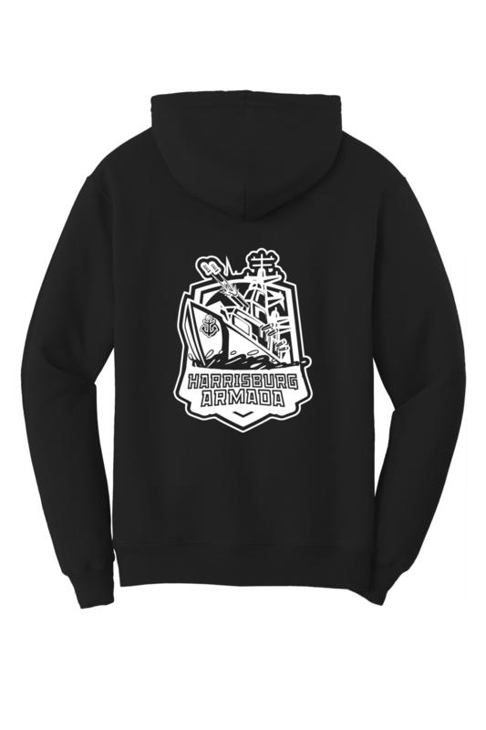 Harrisburg Armada Team Logo Hoodie