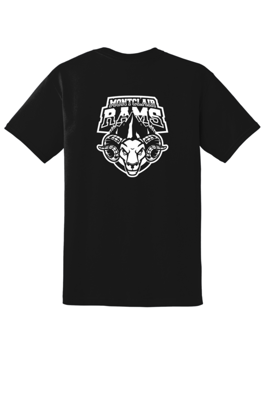 Montclair Rams Team Logo Tee