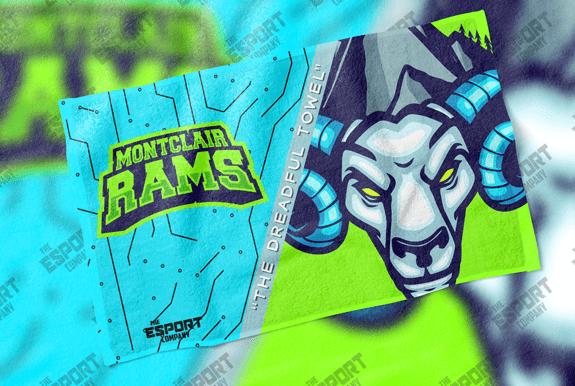 Montclair Rams TECtowel