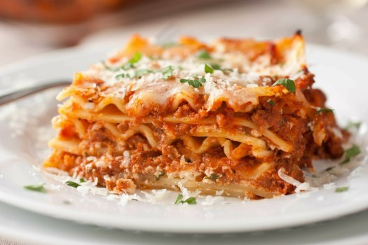 Chef Cesar's Three-Cheese Beef Lasagna