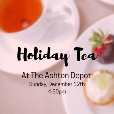 12/12 Teddy Bear Tea
