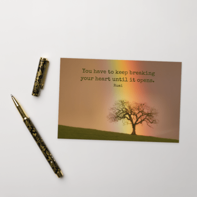 Rumi Postcards from the Heart #8