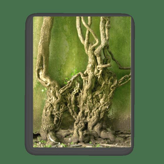 Twisty Green Canvas Print