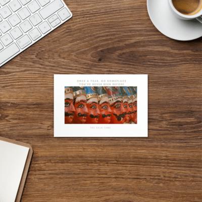 Travel/Quote Postcard #3