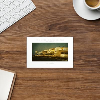 Travel/Quote Postcard #5