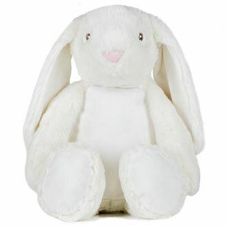White zippie rabbit