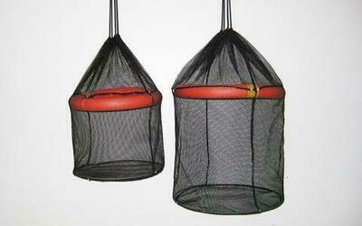 Joy Fish Bait Station Floating Cage, 20 gallon