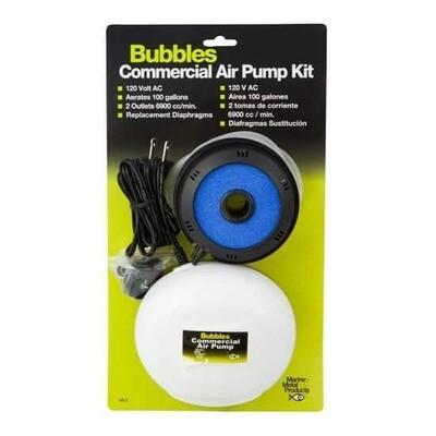 Bubbles 110 Commercial Air Pump Kit - A3