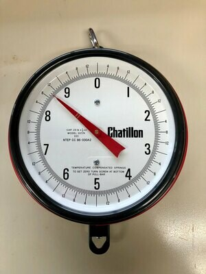 Chatillon Century Series Mechanical Hanging Scales, 20lbs.