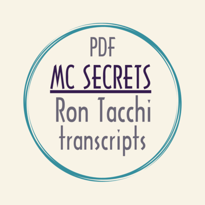 eBook PDF mc corporate MC SECRETS Ron Tacchi video transcriptions