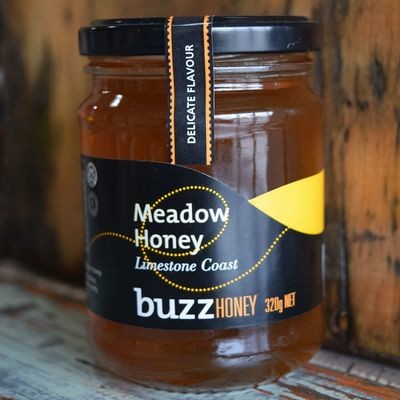 Meadow Honey 320g Glass Jar