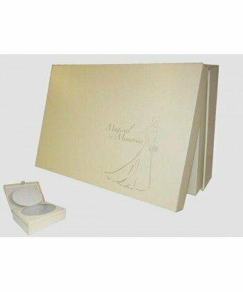 Special Order Wedding Dress Preservation Box Gold / Ivory (Large)