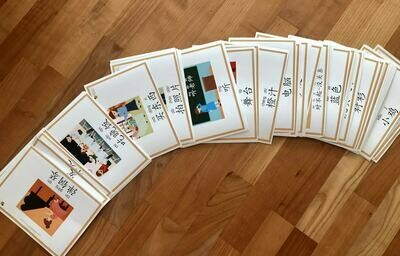 Chinese Picture/Word cards