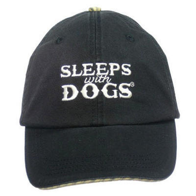 Sleeps with Dogs Cap - Black